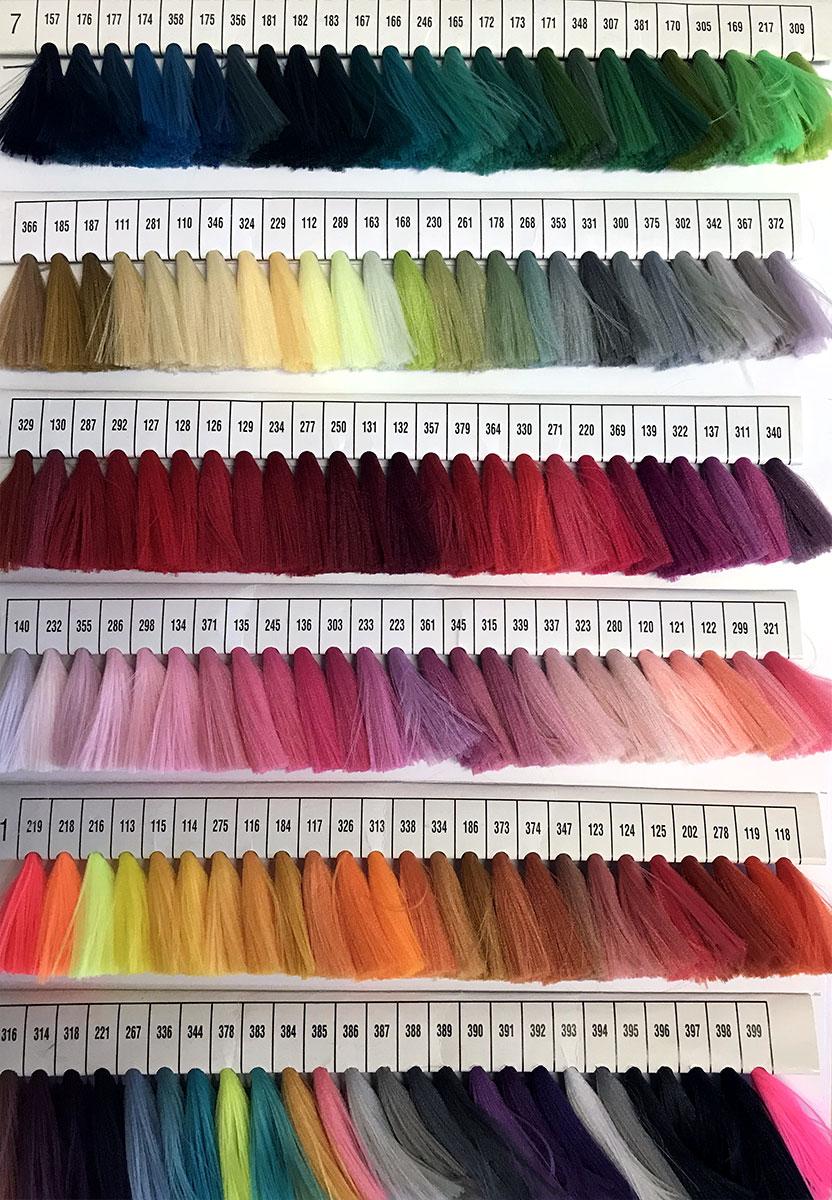 colori lacci in poliestere